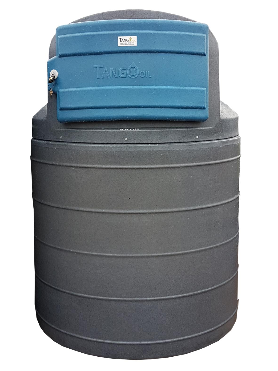Zbiornik dwupłaszczowy 1500L ECO
